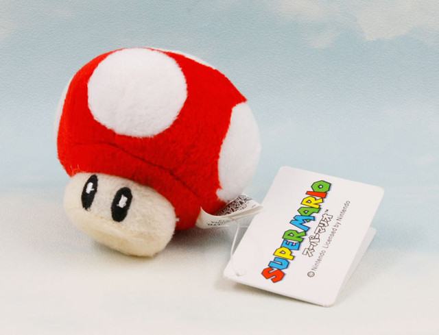 6CM Super Mario Bros Luigi Yoshi Toad Mushroom Mushrooms plush Keychain Anime Action Figures Toys for kids brithday gifts