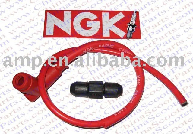 Performance chinese atv parts NGK Ignition cable