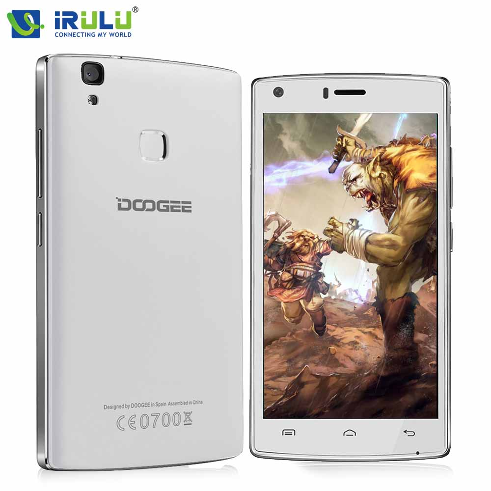 iRULU Doogee X5 Max cellphone 8.0MP Beauty Camera HD video player with MTK6580 Quad Core Google Android 6.0 4000mAh ROM8G RAM1G