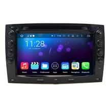 Quad Core 1024*600 Écran Tactile Capacitif Android 7.1.1 Voiture DVD GPS pour Renault Megane 2 Stéréo Radio Lecteur avec Miroir lien