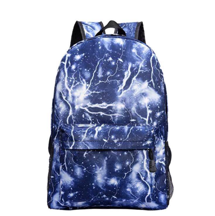 Dropshipping bolso de escuela noctilucous mochila luminosa bolso de estudiante mochila de cuaderno mochila diaria que brilla en la oscuridad