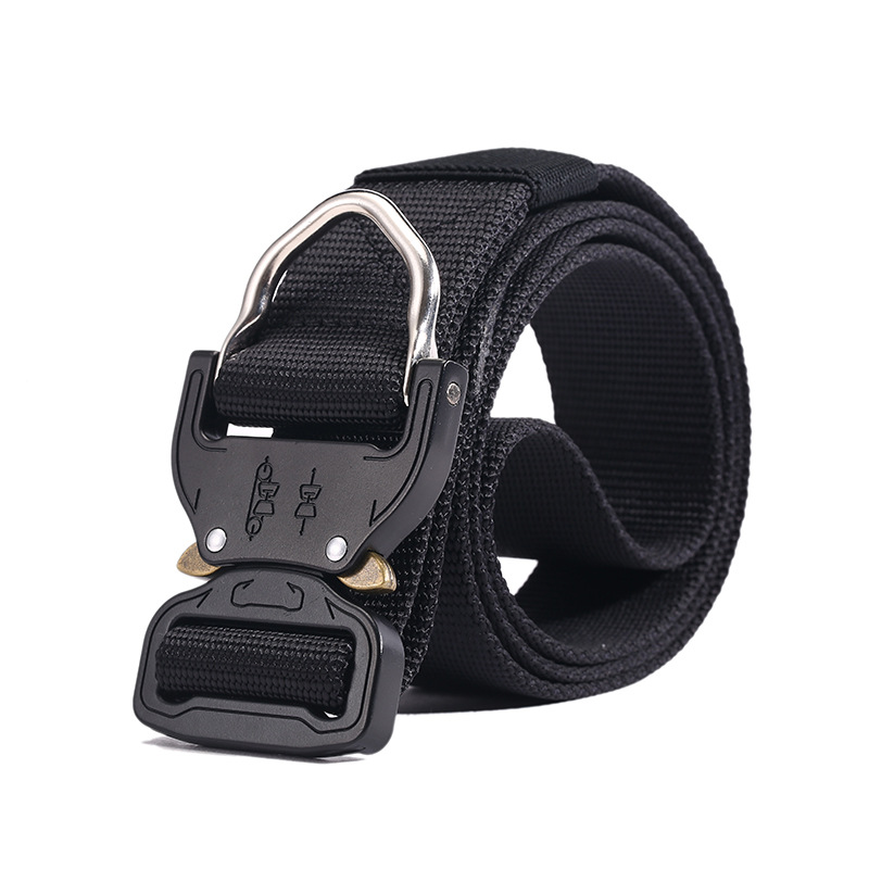 Male Tactical belt military Canvas white buckles Belts Outdoor Tactical Belt men s Military Nylon Belts
