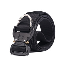 Male Tactical belt military Canvas white buckles Belts Outdoor Tactical Belt men's Military Nylon Belts Army ceinture homme 47