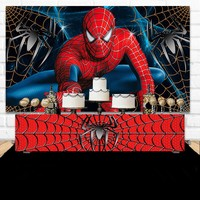 Custom Spiderman Birthday Boy Super hero photo backdrop High quality Computer print party photography studio background