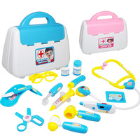 Infant Shining Play House Toys The Doctor Supplies Suit The Medical Kit Children S Educational Toys