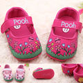 Новый Цветок Печати Детская Обувь Хлопок Печати Мелкой Девушка Новорожденный Обувь Для 0-1 Лет