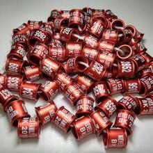 50 шт. Алюминиевые кольца Канарские любовь птицы burgerigar кольца для лап 2 мм до 12 мм все размеры