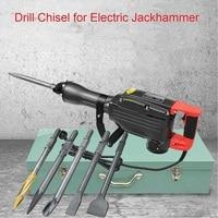 Jack Hammer Drill Chisel For Electric Demolition Hammer Concrete Breaker Jackhammer 95/65|Chisel|Tools -