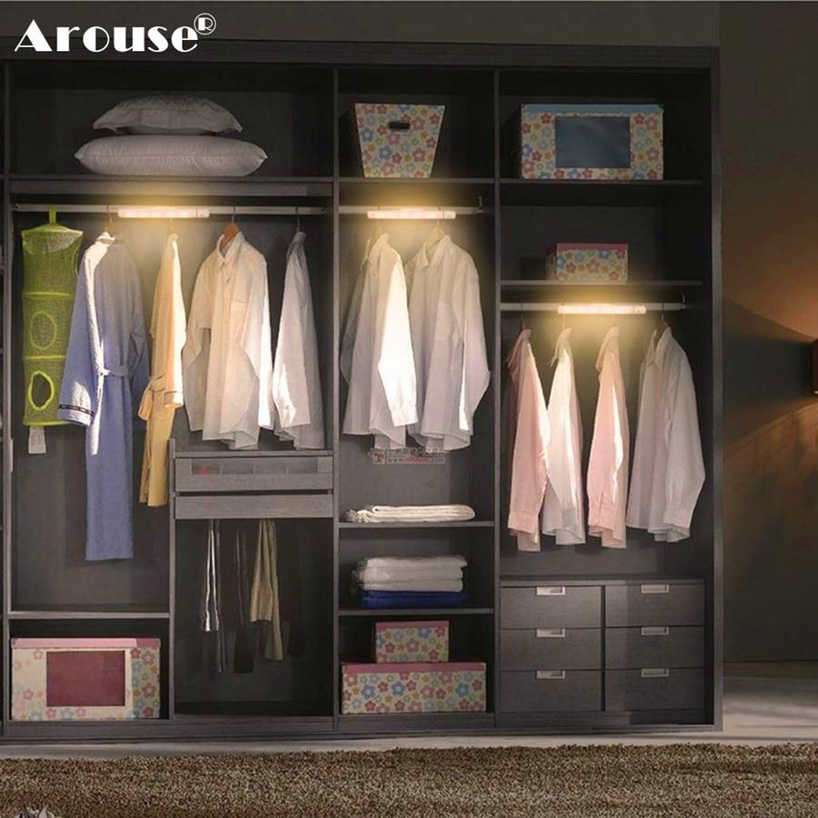 AROUSE Night Light Motion Sensor Motion Sensing LED Night Light Wireless LED Closet Lights For Closet, Attics, Hallway, Washroom