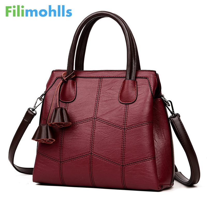 NEW Luxury Handbags Women Bags Designer Leather handbags Women Shoulder Bag Female crossbody messenger bag sac a main S1411 trenadorab velour shoulder bag women bag luxury handbags designer brand ladies chain velvet crossbody messenger bags sac a main