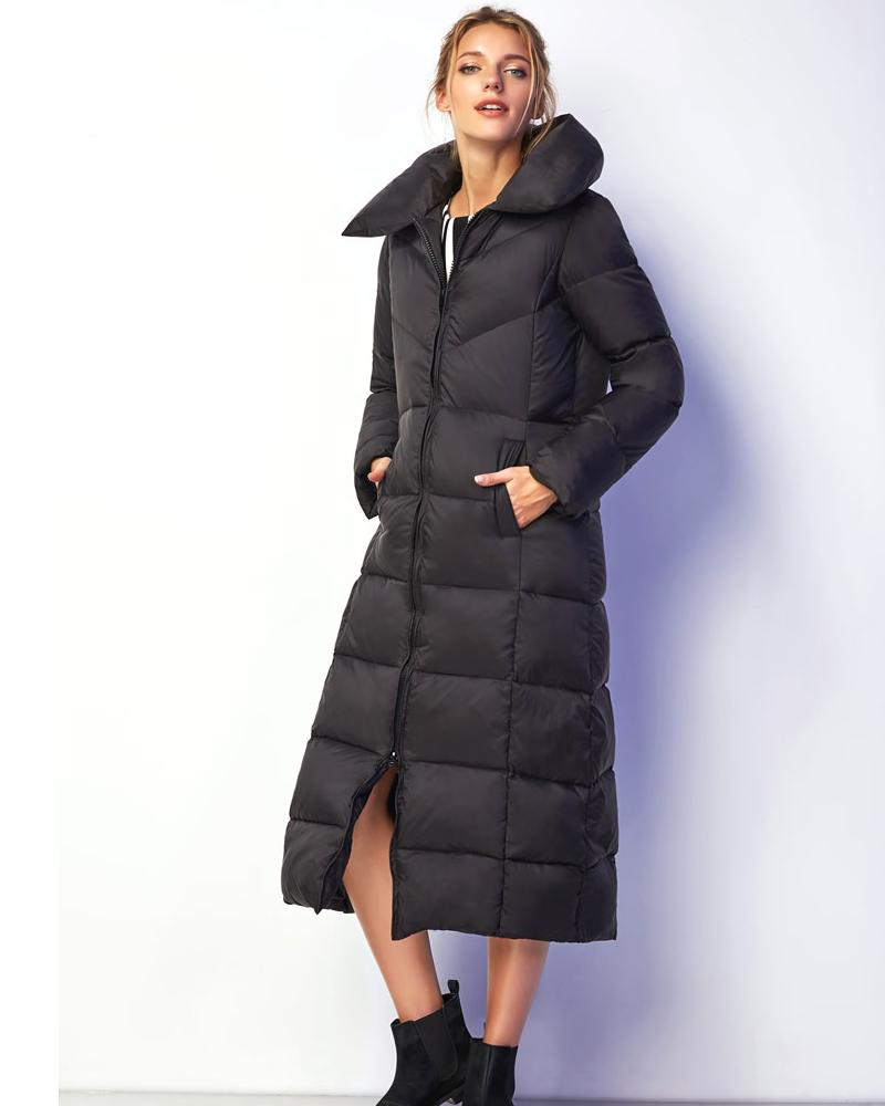 Find great deals on eBay for quilted down long coat. Shop with confidence.