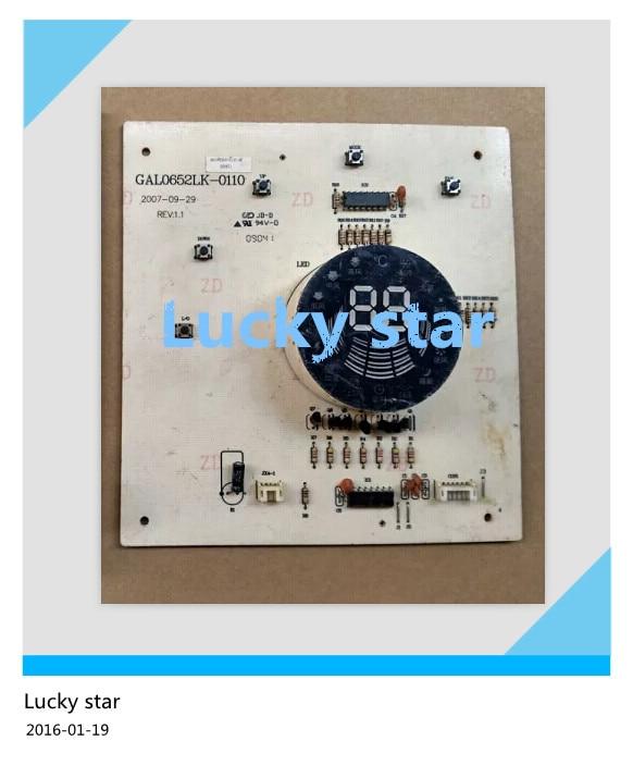 95% new for Galanz air conditioning Display board GAL0652LK-0110 board good working холодильник galanz bcd 217t