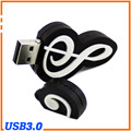 100% Genuine memória nota musical em forma de Flash Drive USB de alta qualidade vara legal pen drive USB 3.0 8 GB 16 GB 32 GB 64 GB pendrive