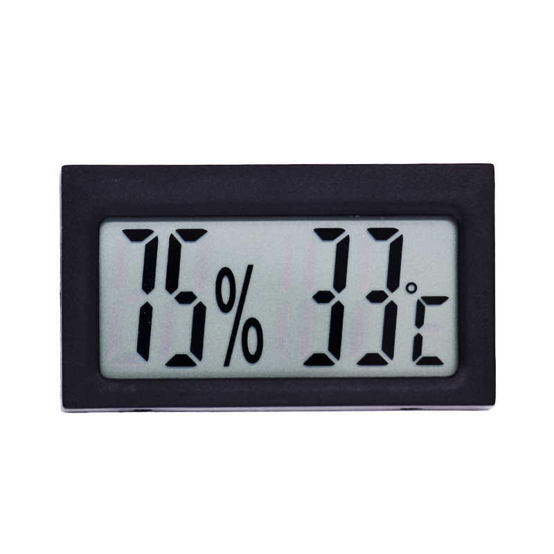 High-accuracy LCD Thermometer Hygrometer Electronic Temperature Humidity Meter Indoor -30C~50C Detector termometer 20%RH~99%RH mini 2 0 lcd car indoor thermometer hygrometer black 10 c 50 c 20% 95% rh 1 x lr44