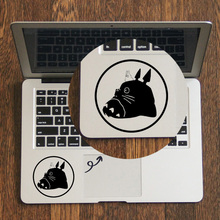 Totoro Portrait Trackpad Decal Laptop Sticker for Apple Macbook Pro Air Retina 11 12 13 14 15 inch HP Mac Book Touchpad Skin