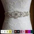 2016 XW54 невесты пояса продажа невеста свадебное платье ремень чисто ручной мозаика горный хрусталь свадебные аксессуары ремни