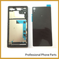 New Original For Sony Xperia Z3 L55 L55w D6603 D6653 Full Housing Cover Middle Frame  Battery Door Case Mobile Phone Parts +LOGO