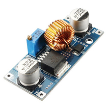 5A 75W XL4015 DC-DC Converter Adjustable Step-Down Module 4.0-38V to 1.25V-36V DIY Adjustable Power Supply