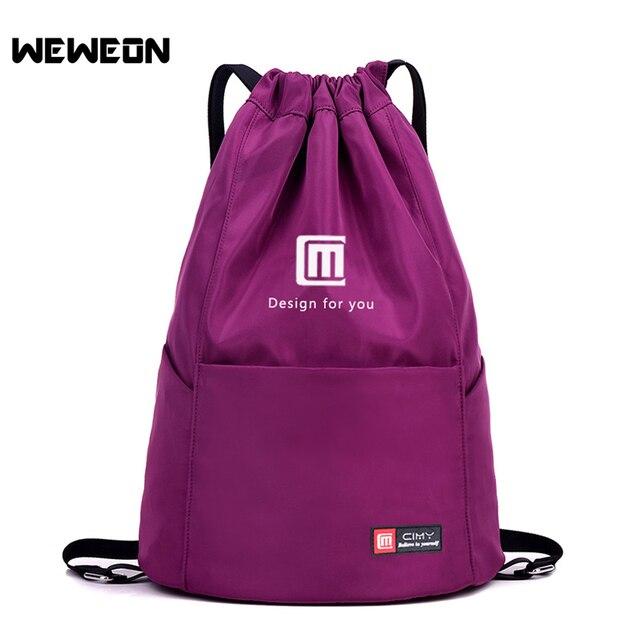 0f9caf0fc5 New Stylish Gym Storage Bag Nylon Sports Drawstring Bag Riding Backpack  Large Capacity Sports Backpack Lightweight Shoulder Bag