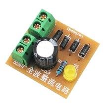 5 шт. DIY Наборы IN4007 мостовая схема выпрямителя полный волна доска люкс AC к DC Питание конвертер электронного обучения