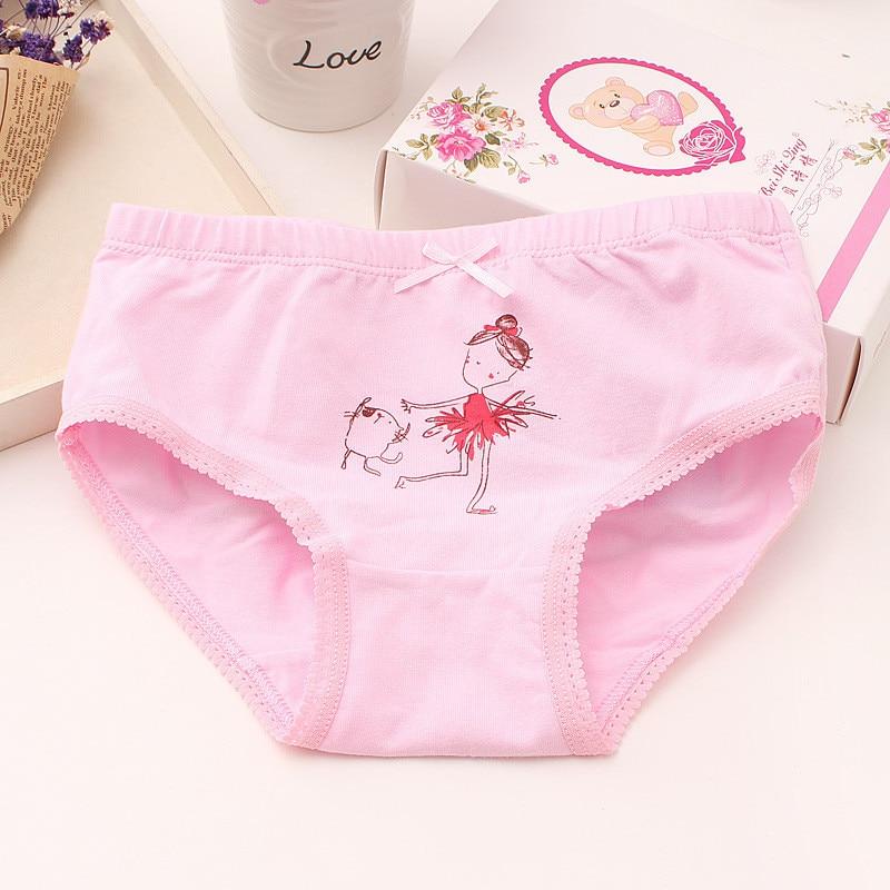 Baby Girls 4pcs/pack panties shorts Fashion Baby Underwear Cotton Panties For Girls Kids Short Briefs Children Underpants 2