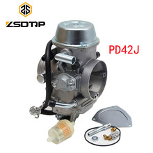 ZSDTRP PD42J 42mm Vakum Karbüratör Carb Grizzly 600 660 YFM600 ATV Raptor 500 650 660 ATV Quad UTV(China)