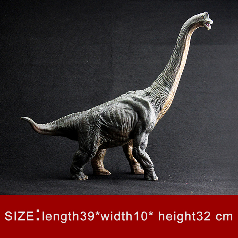 Le modèle de dinosaure Simulation de qualité modèle Animal jouet dinosaure monde poséidon Dragon de mer lézard Brachiosaurus