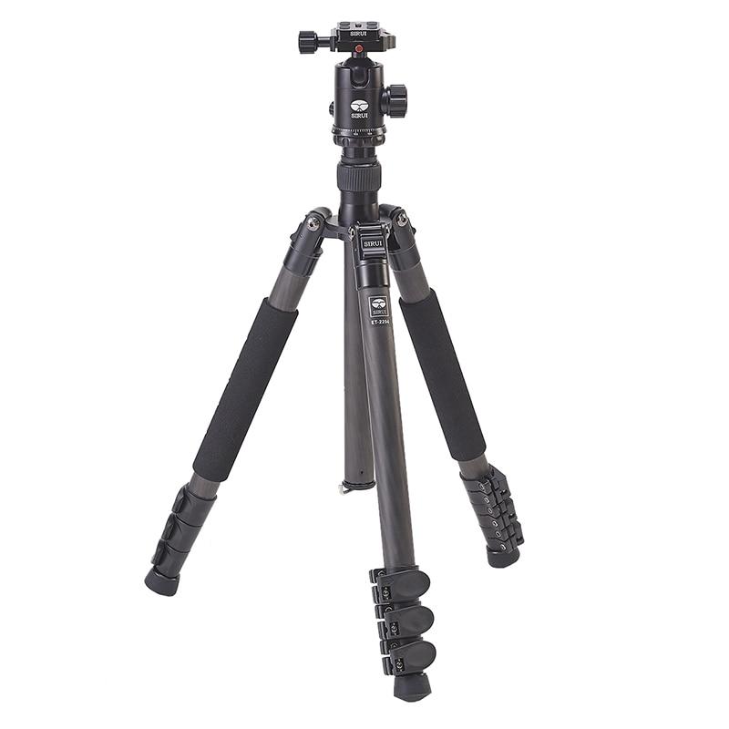 SIRUI Professional Tripod Ball Head Set ET-2204+K20X Stable Photography Bracket Shockproof Tripod For Canon Nikon Digital Camera