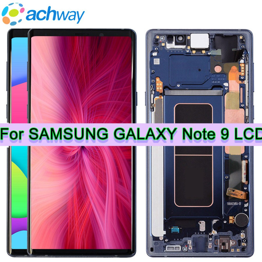 100% Testato Per 6.4 SAMSUNG GALAXY Note 9 LCD Note9 Display Touch Screen Digitizer Assembly di Ricambio Per SAMSUNG Note 9 LCD100% Testato Per 6.4 SAMSUNG GALAXY Note 9 LCD Note9 Display Touch Screen Digitizer Assembly di Ricambio Per SAMSUNG Note 9 LCD