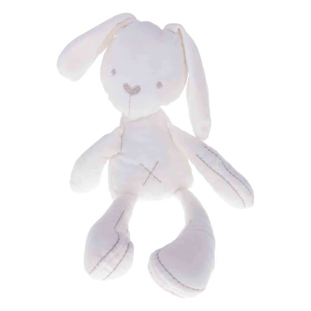 Детские спальные Кролик Банни сон Куклы Мягкие плюшевые вещи Игрушечные лошадки младенческой малыш соска