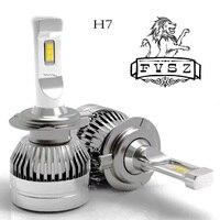 2 Pcs Mini H7 LED Car Headlight Bulb Canbus H4 12 24V 10000LM 6000K Lamp H3 H1 9005 HB3 9006 HB4 H8 H9 H11 Heads lamp