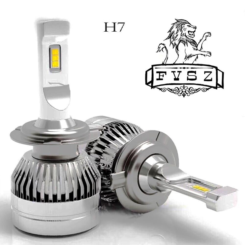 FYSZ Mini Canbus lampada F2 H7 H4 LED Phare De Voiture 12 V 10000LM 6000 K Lampe H3 H1 9005 HB3 9006 HB4 H8 H9 H11 lumière Ampoule