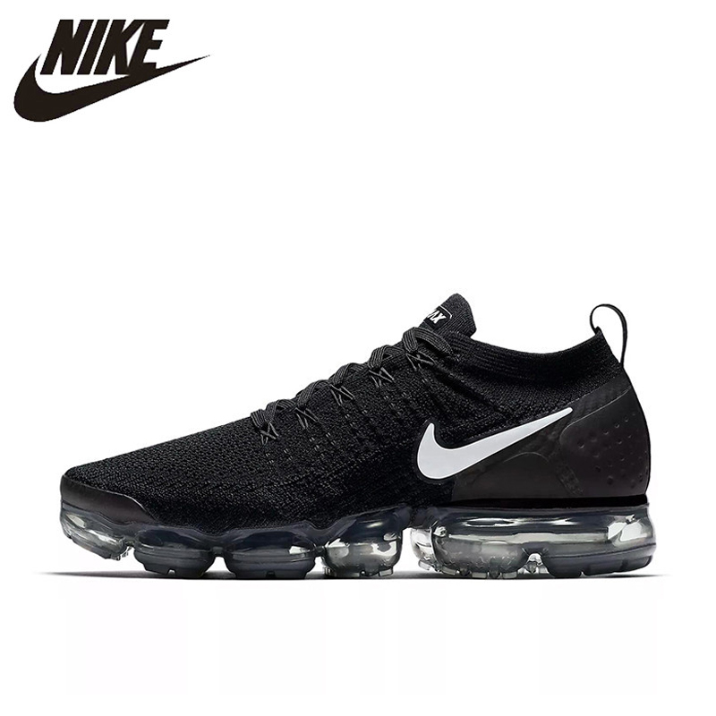 san francisco 03d2f c10f2 US $55.48 62% OFF|NIKE AIR VAPORMAX FLYKNIT 2 Mens Women Running Shoes  Sneakers Breathable Sport Outdoor Eur 36 45-in Running Shoes from Sports &  ...