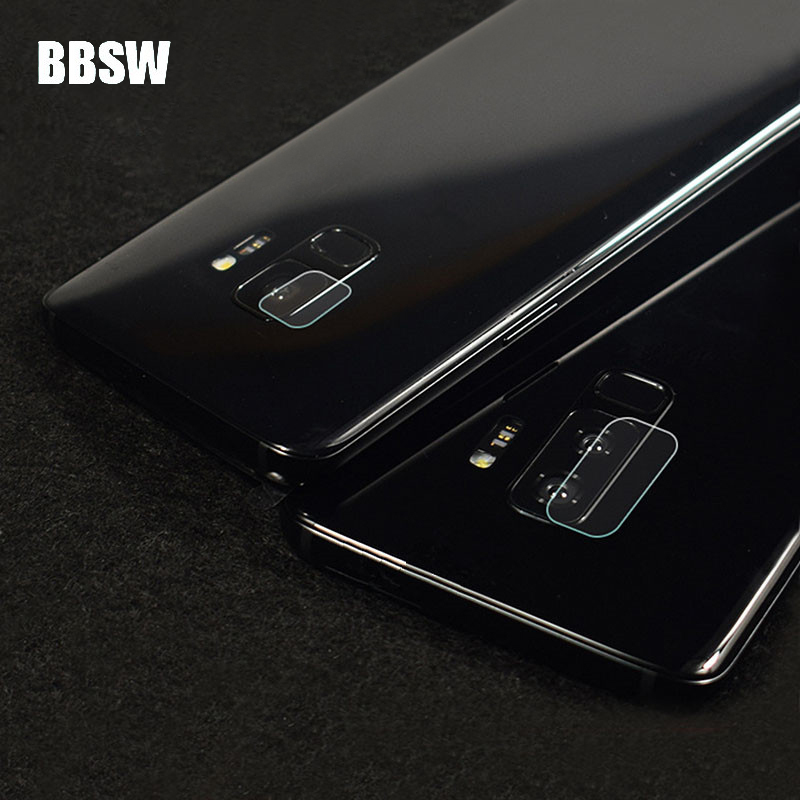 BBSW 1Pc/2Pcs Dedicated Back Camera Tempered Glass For SAMSUNG Galaxy S9/S9 Plus S8 S7 S6 Edge Plus Note 5 Rear Camera Lens Film