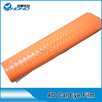 New Arrive Hot Sale 4D Cat Eyes Protection Foil Cat Eyes Atuo Car Wrap Size 1