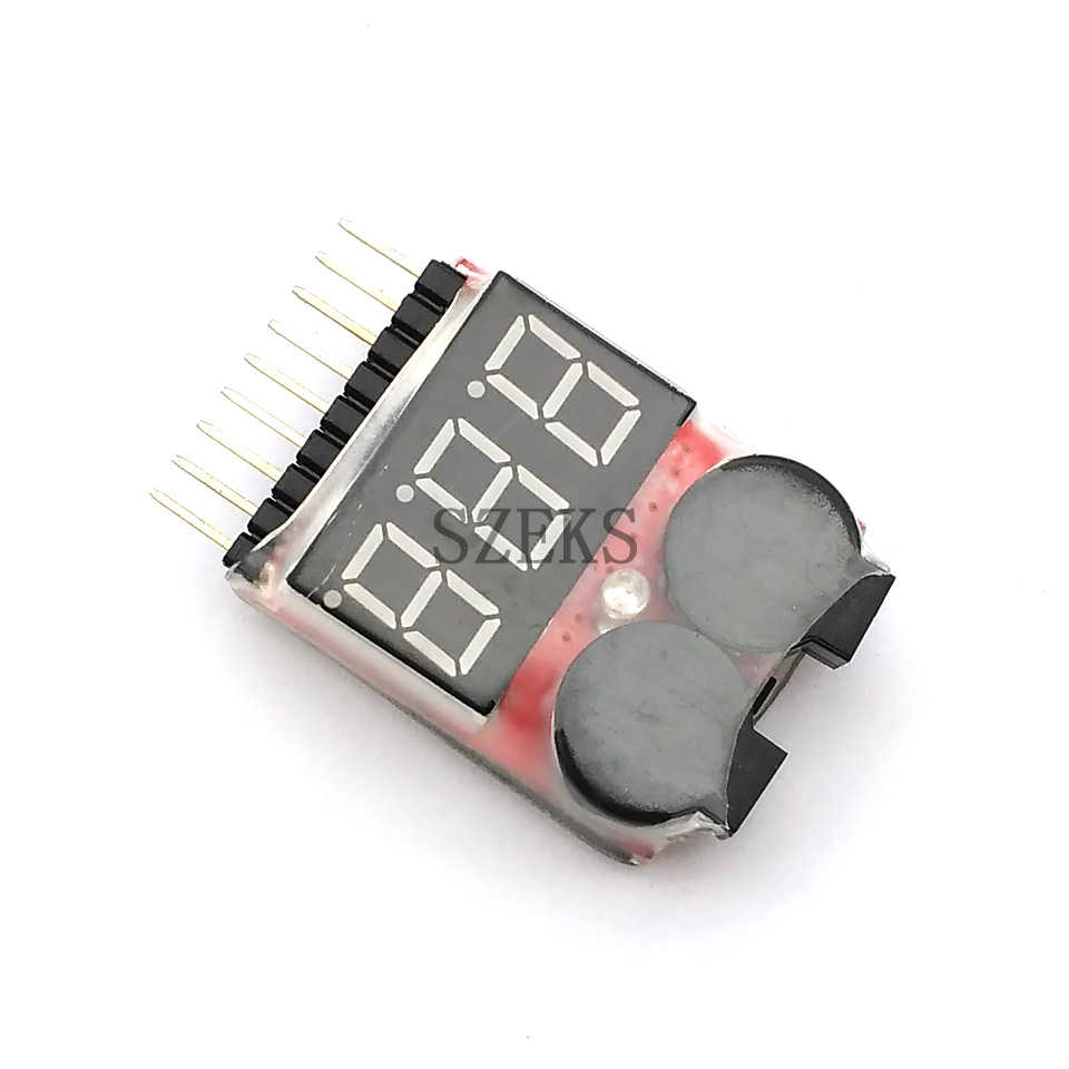 Detail Feedback Questions About 1 8s Led Low Voltage Buzzer Alarm Precision Receiver Battery Tester Lipo Li