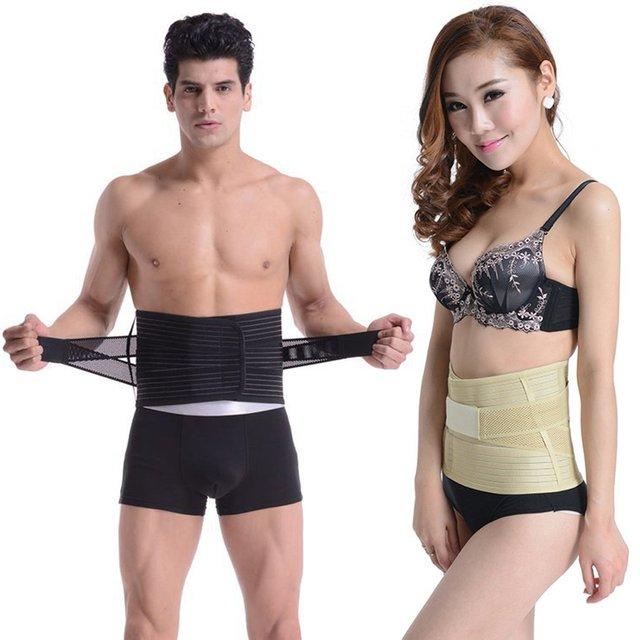 Men Women Waist Support Belt Sport Slimming Absorb Sweat Gym Bodybuilding Weightlifting Waist Traning Belt