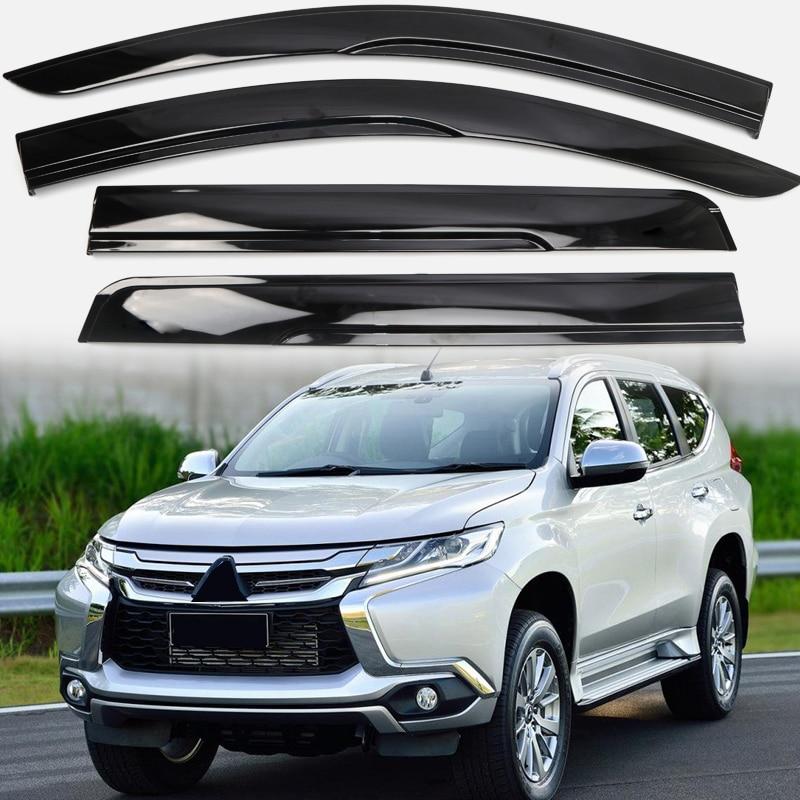 Mitsubishi Sport: Window Visor Vent Shade Rain/Sun/Wind Guard Deflectors