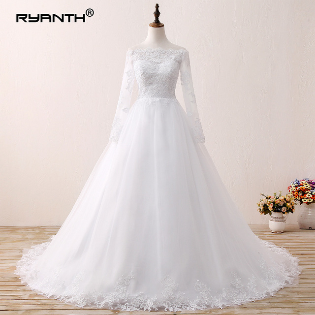 aliexpress : buy vestido de novia custom made bridal gown 2019