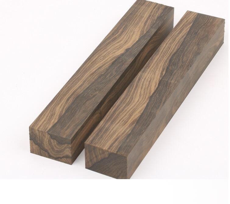 Купить с кэшбэком Persimmon wood Ziricote, Ciricote (Cordia Dodecandra) Mexican Ebony Knife handle material 1 piece