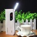 DCAE Banco Do Poder 20000 mah 3 USB da Tela de Toque LCD Com Luz de Leitura Led powerbank Bateria Externa para todos os telemóveis telefone