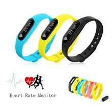 Монитор Сердечного ритма Смарт Браслет C6 Пульсометр Шагомер Фитнес-Трекер Bluetooth 4.0 Браслет Для Android 4.4 iOS 7.0