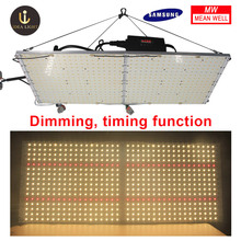 Led grow board 120w/240w samsung LM301B warm white 3500K/4000K Full spectrum Grow/Bloom dimmable lamps use meanwell driver