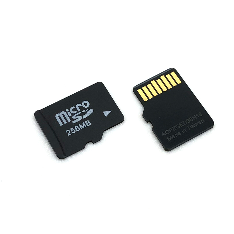 Image 2 - Promotion!!!  100PCS/LOT 256MB TF Card TransFlash Card Micro Card 64MB With SD Card Adapter-in Micro SD Cards from Computer & Office