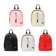 Alligator 2018 New Fashion Women PU Leather Pattern Backpack Luxury School