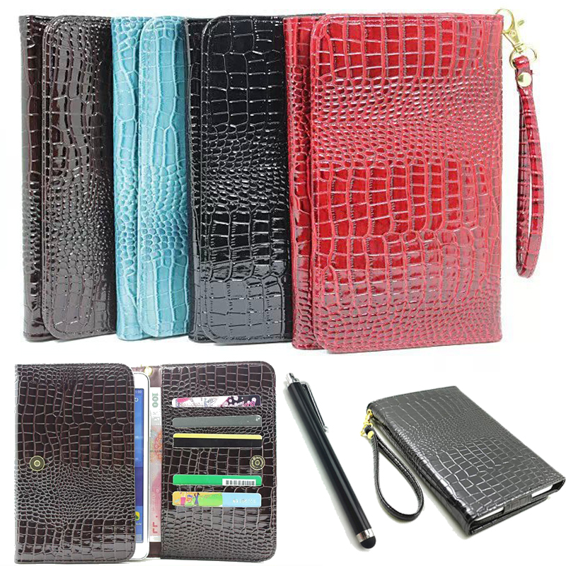 HOT! For lenovo Tab 2 A8-50F case luxury cover case For Lenovo Tab 2 A8-50 crocodile leather case capa funda 1pc+pen