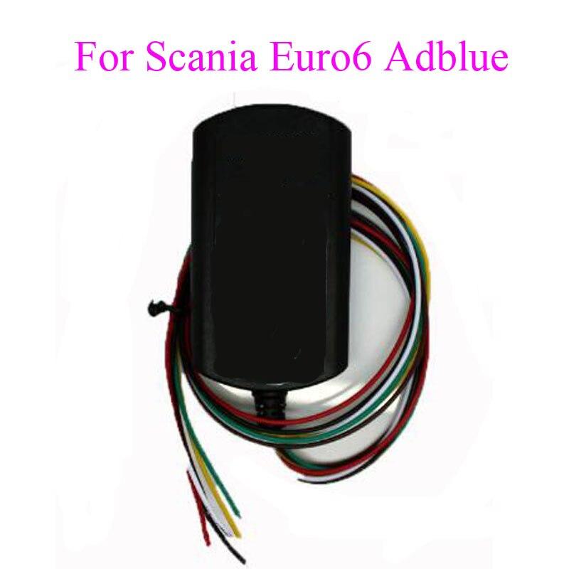 Новый adblue эмулятор для поддержки Scania Евро 6 adblueobd2 прибор сканер грузовиков с DPF systerm петролеума, химической промышленнос