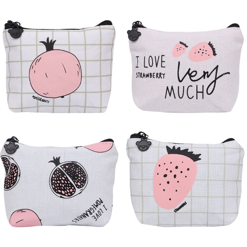 THINKTHENDO Cute Children Mini Wallet Women Girl Coin Purse Small Zip Bag Card Coin Holder Purse Handbag Lady Bags Cotton cloth dachshund dog design girls small shoulder bags women creative casual clutch lattice cloth coin purse cute phone messenger bag