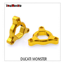Voor Ducati 696 Monster 2009 2010 motorfiets accessoires 17MM verende vork preload richters(China)