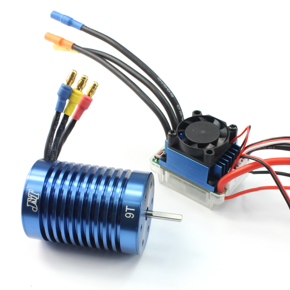 F17289 a b c 1 10 1 12 brushless combo rc racing 60a esc for 10 amp motor controller